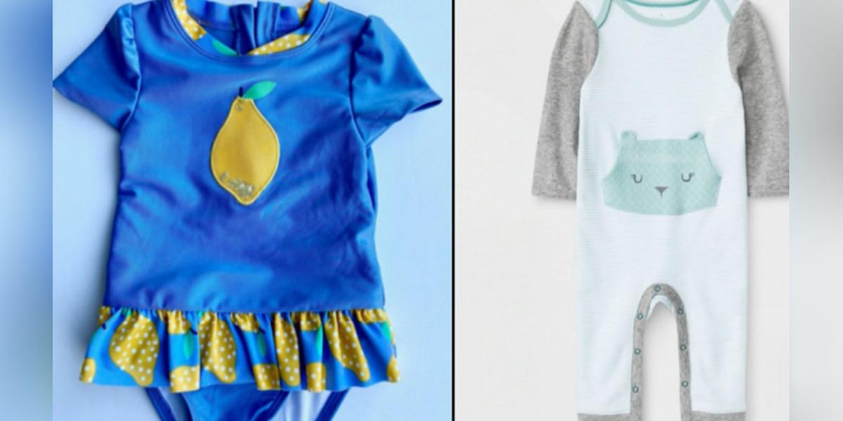 Target recalls baby clothes over possible choking hazard