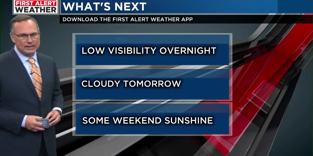 FIRST ALERT: Fog likely during the overnight