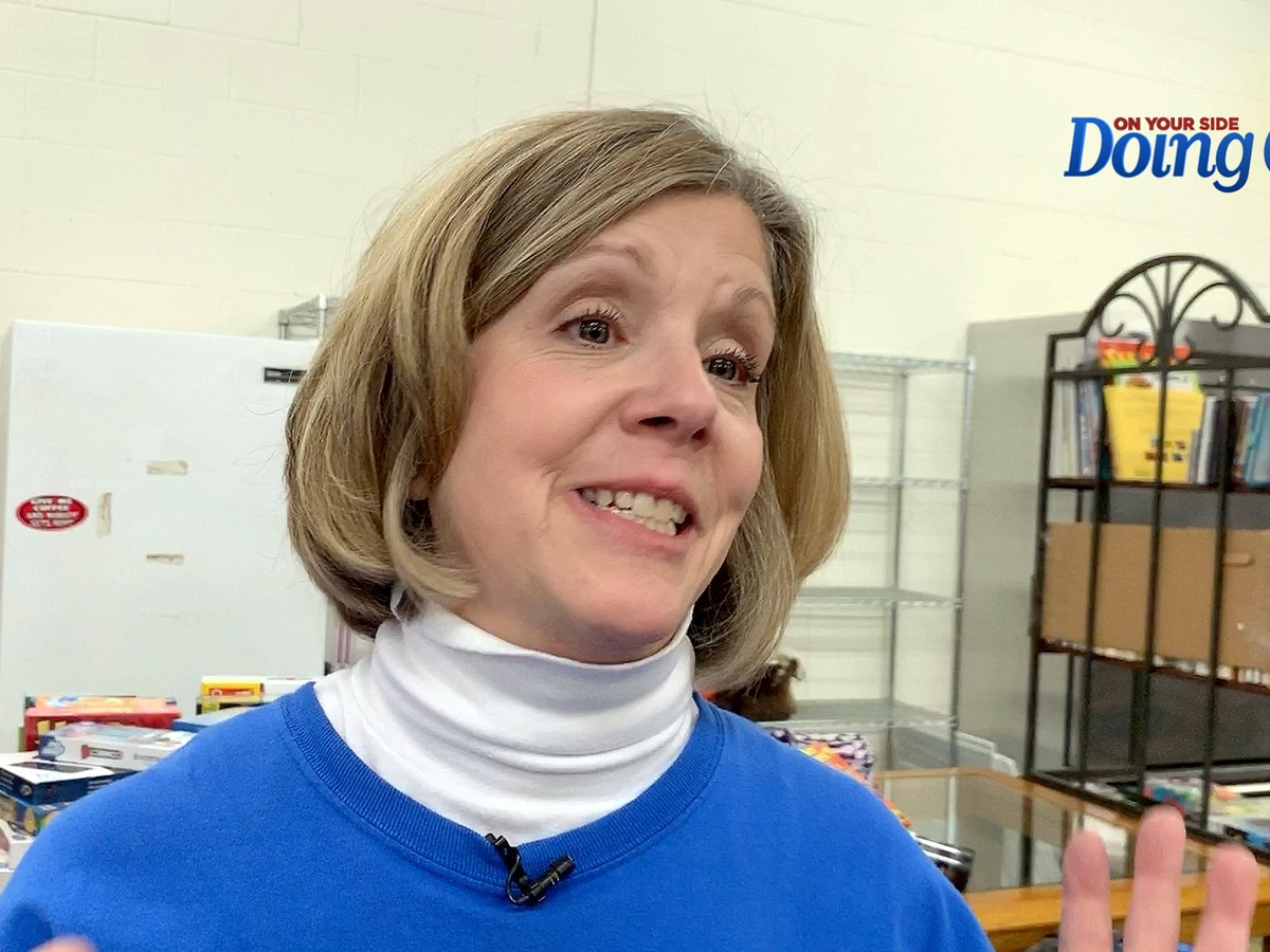 Liz McGuire is 'Doing Good' at Oak Mountain Mission