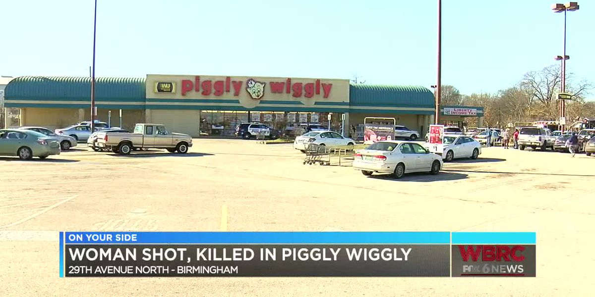 Woman accused of deadly Christmas Eve shooting at Piggly Wiggly arrested
