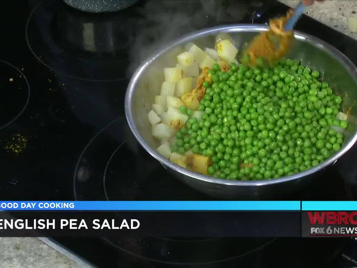 Brick & Tin: English pea salad