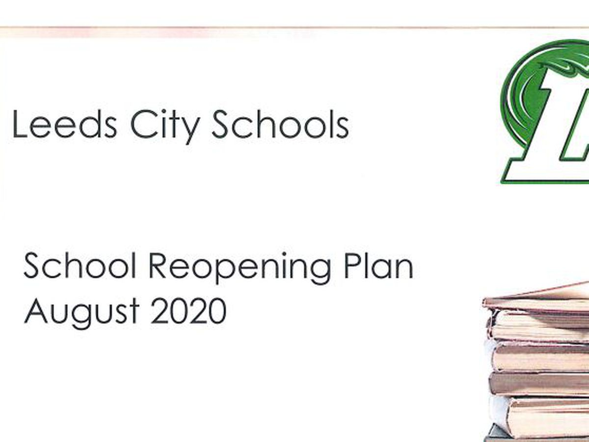 Leeds City Schools' reopening plan unveiled