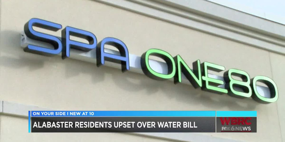 Alabaster residents upset over water bill