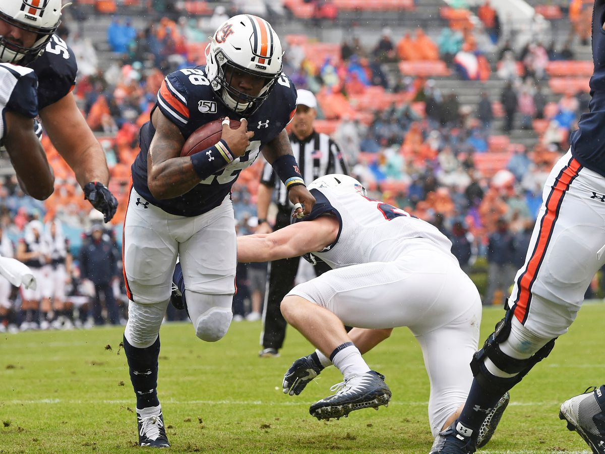 No. 15 Auburn pounds its way to win over Samford