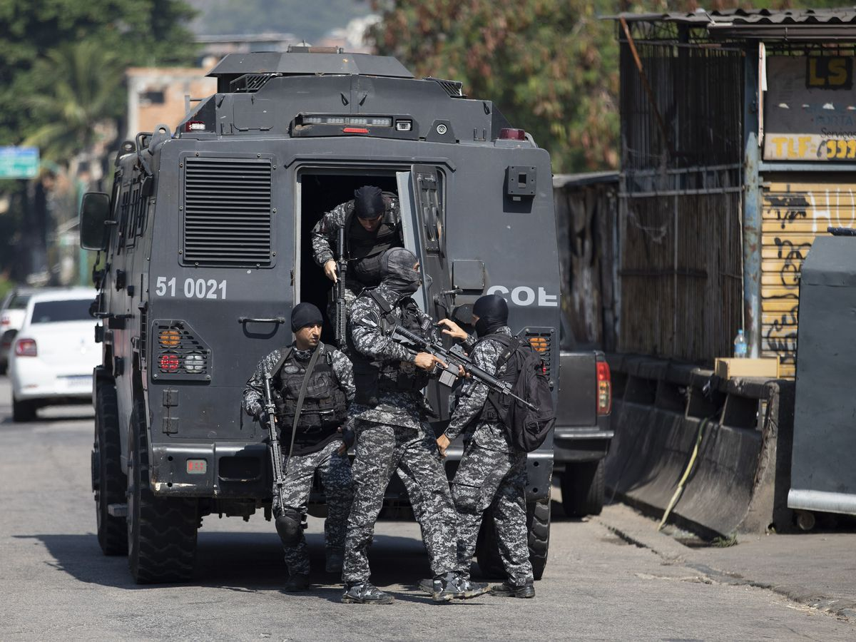At least 25 dead during Brazilian police raid in Rio