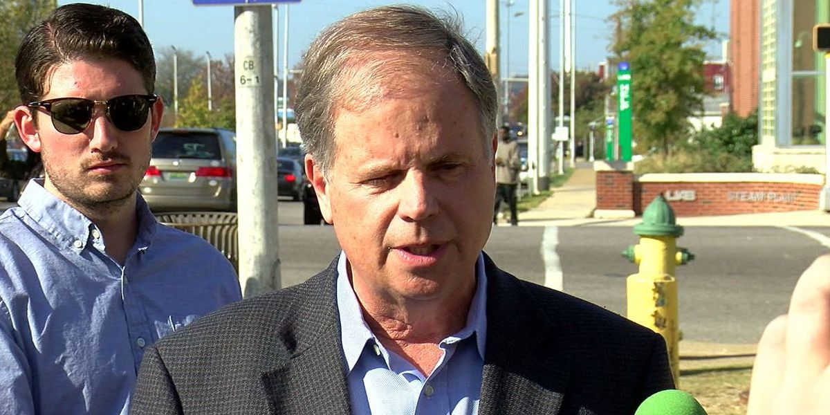 Doug Jones: 'We're going to stay in our lane... talk issues'