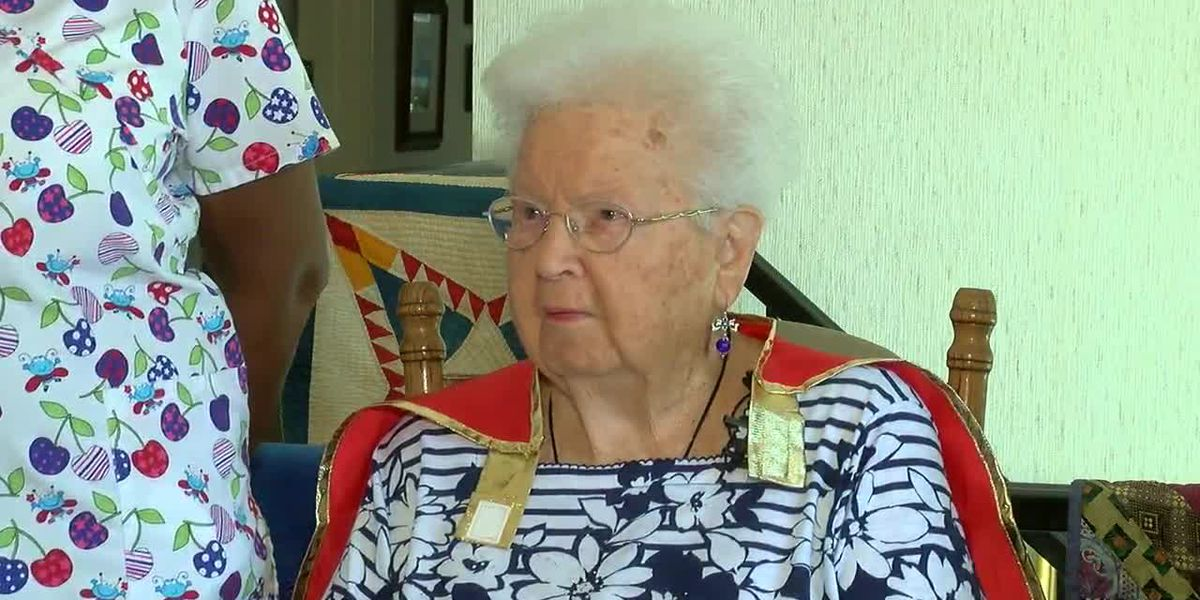 94-year-old Irondale woman honored for her work with the atomic bomb during World War II