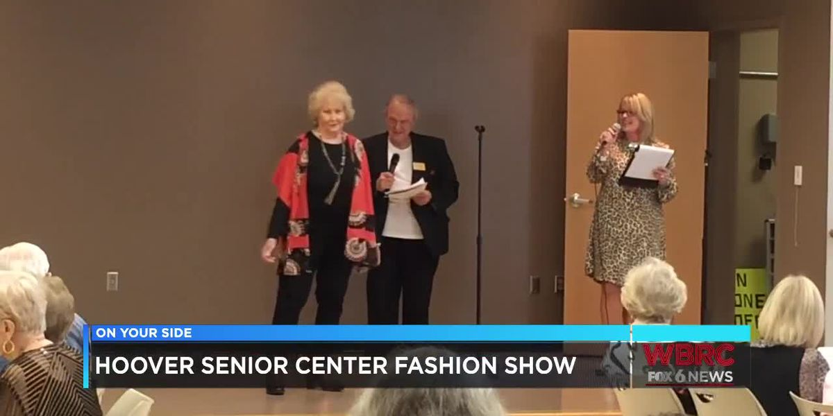 Hoover senior center fashion show