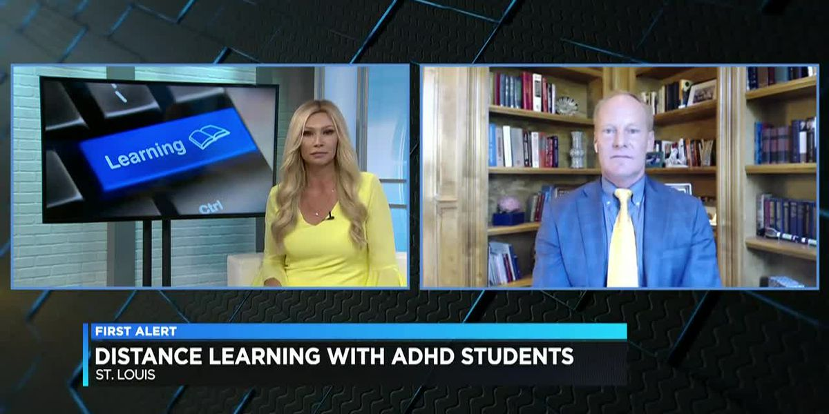 Doctor shares tips on successful distance learning for ADHD students