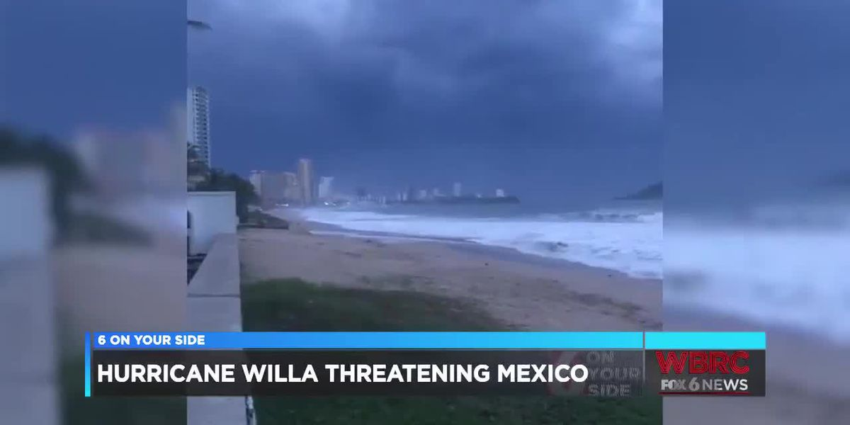 Hurricane Willa threatening Mexico