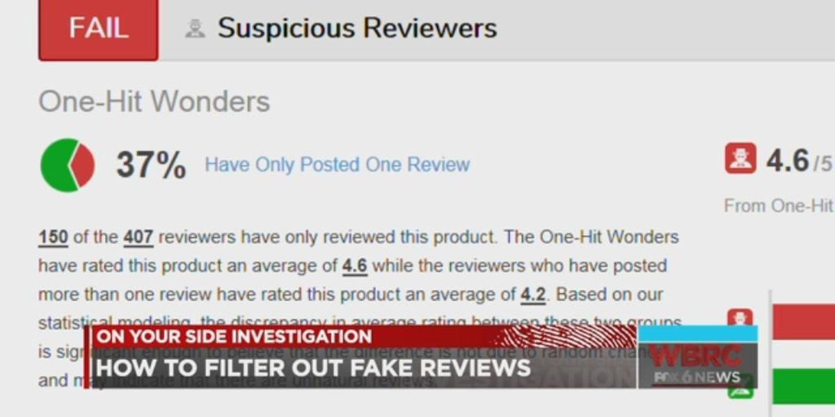 On Your Side: Fake product reviews online