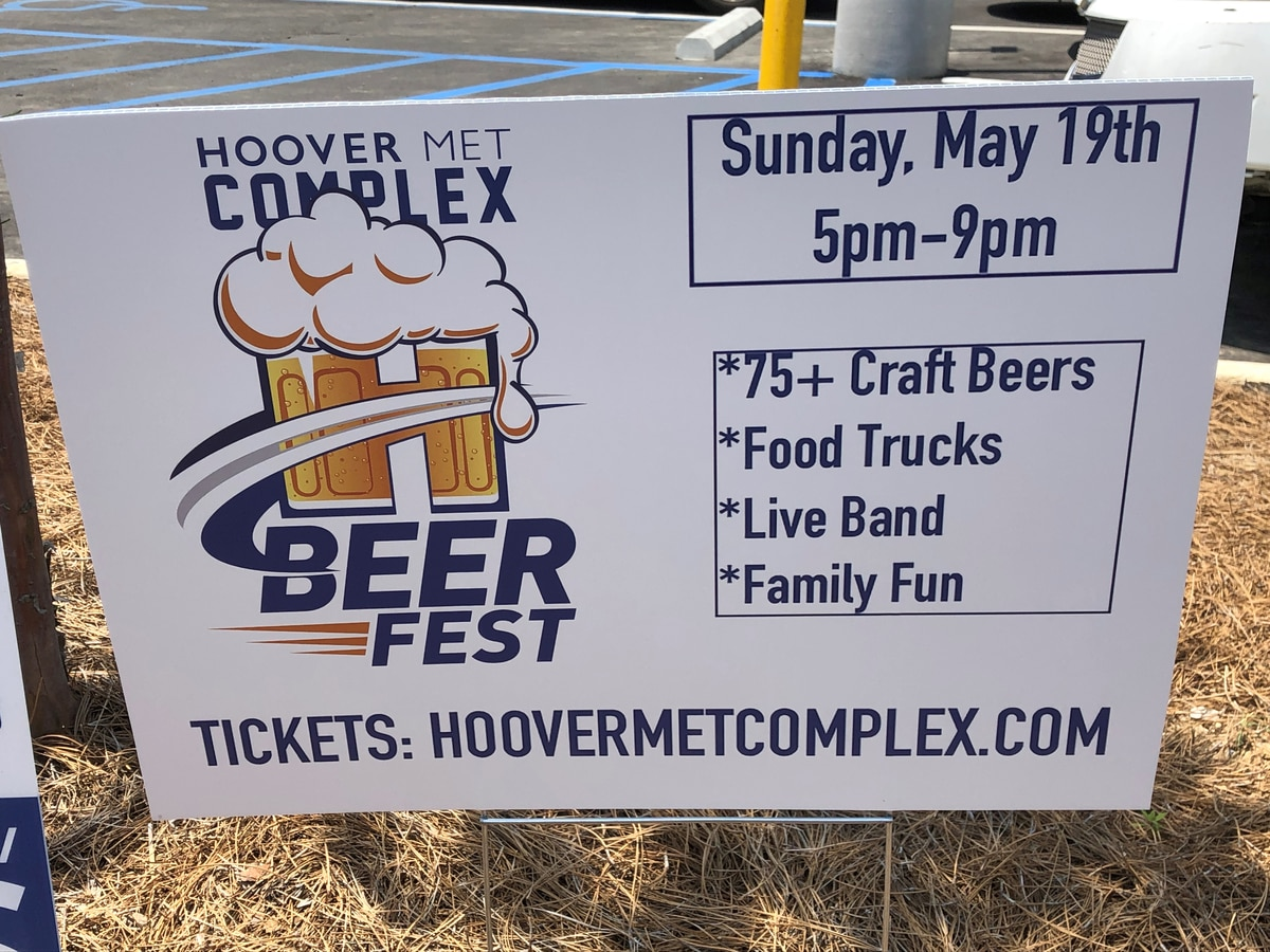 Beer Fest in Hoover this weekend
