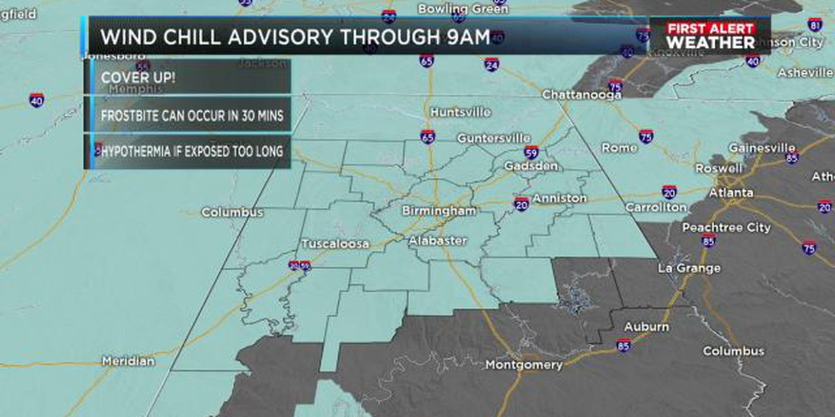 FIRST ALERT UPDATE: Another dangerously cold morning