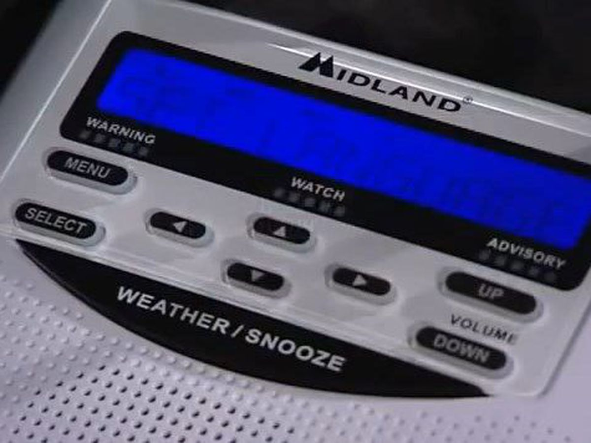 How to program your weather radio, order a weather radio