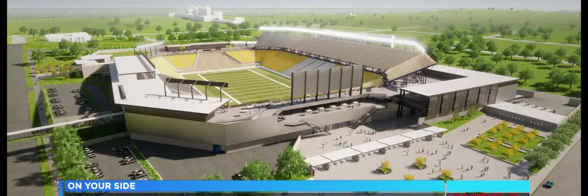 Groundbreaking for downtown stadium