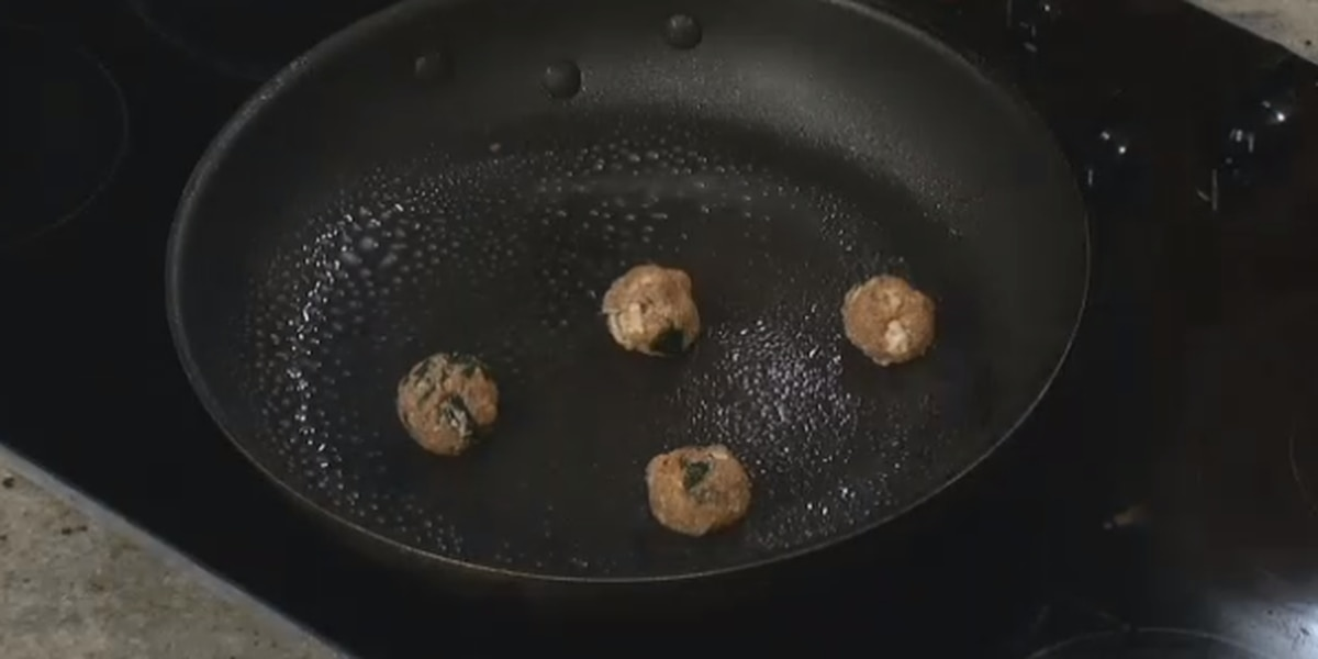 Angela's Turkey and Feta Meatballs