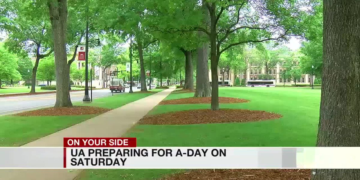 UA officials preparing for A-Day on Saturday