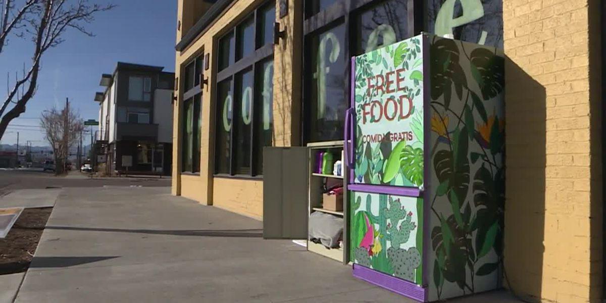 Fridges of free food set up to help address food insecurity in Denver
