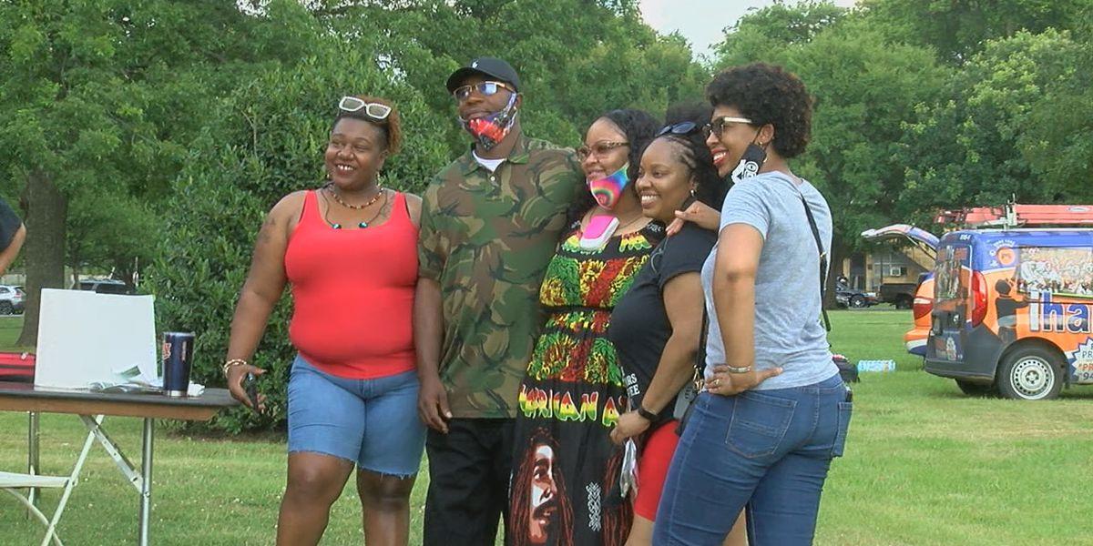 Hundreds celebrate Juneteenth at Patton Park
