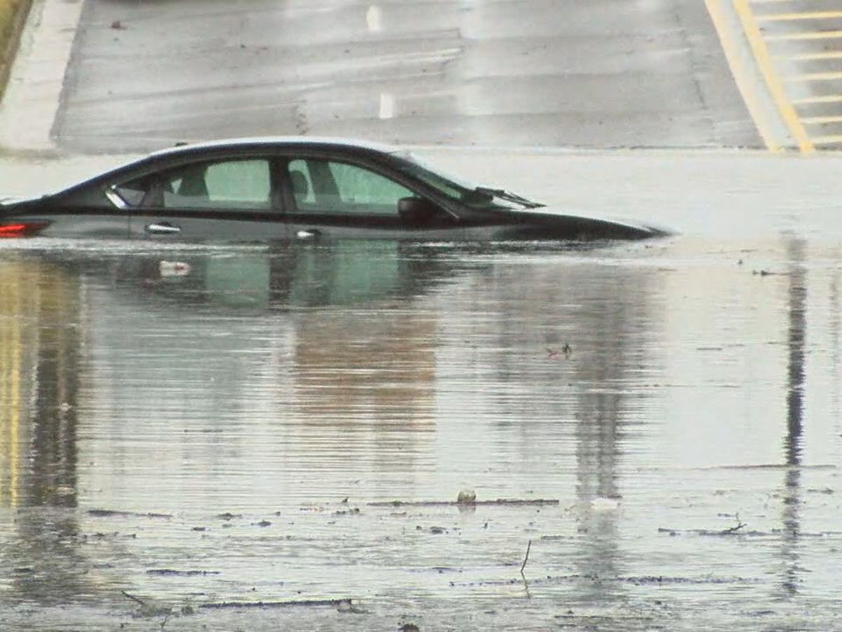 Concerns about flooding on Messer Airport Highway