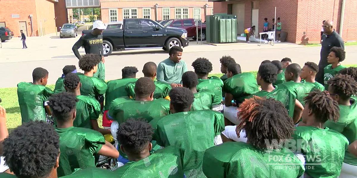 Woodlawn football team remembering player William Edwards