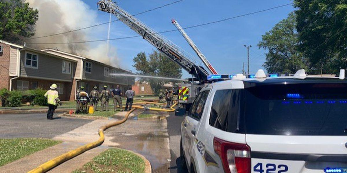 Person found dead in fire at Birmingham apartment complex identified