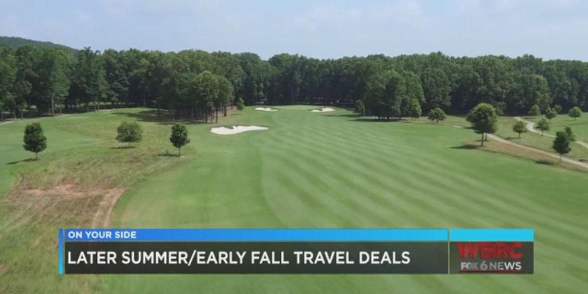 Late summer or early fall travel deals
