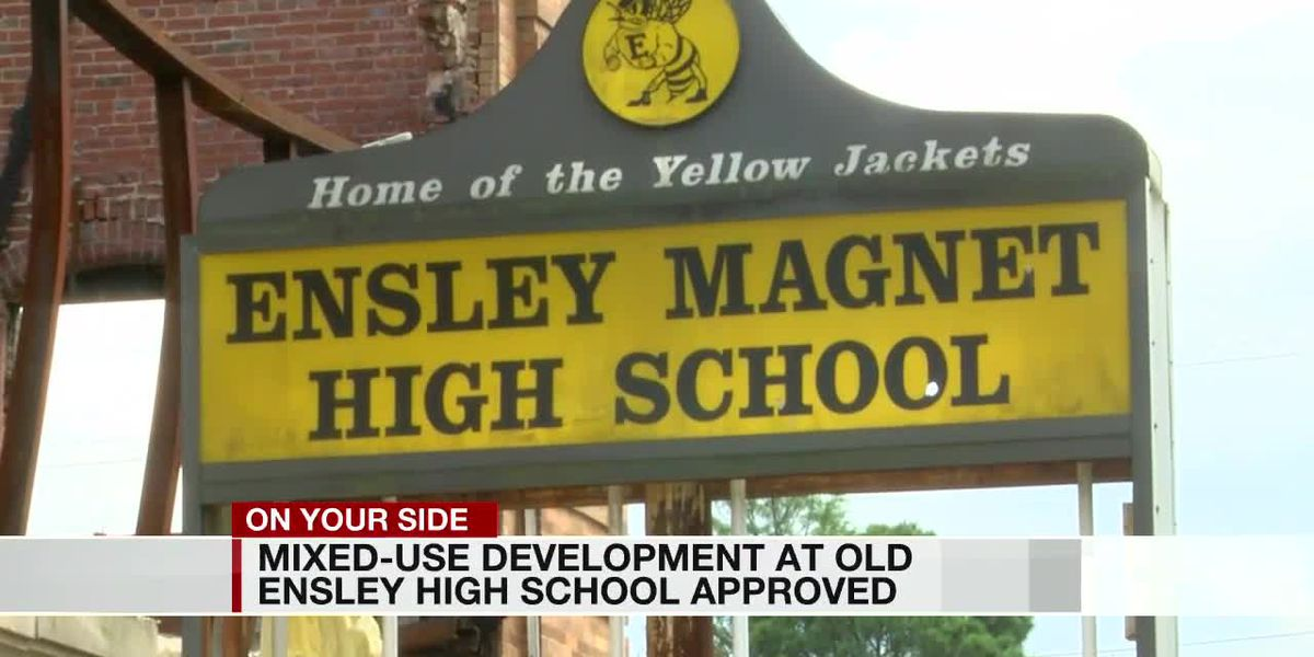 B'ham City Council approves Ensley High redevelopment