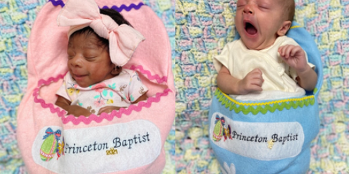 """Princeton NICU shares their most precious """"Easter Eggs"""""""
