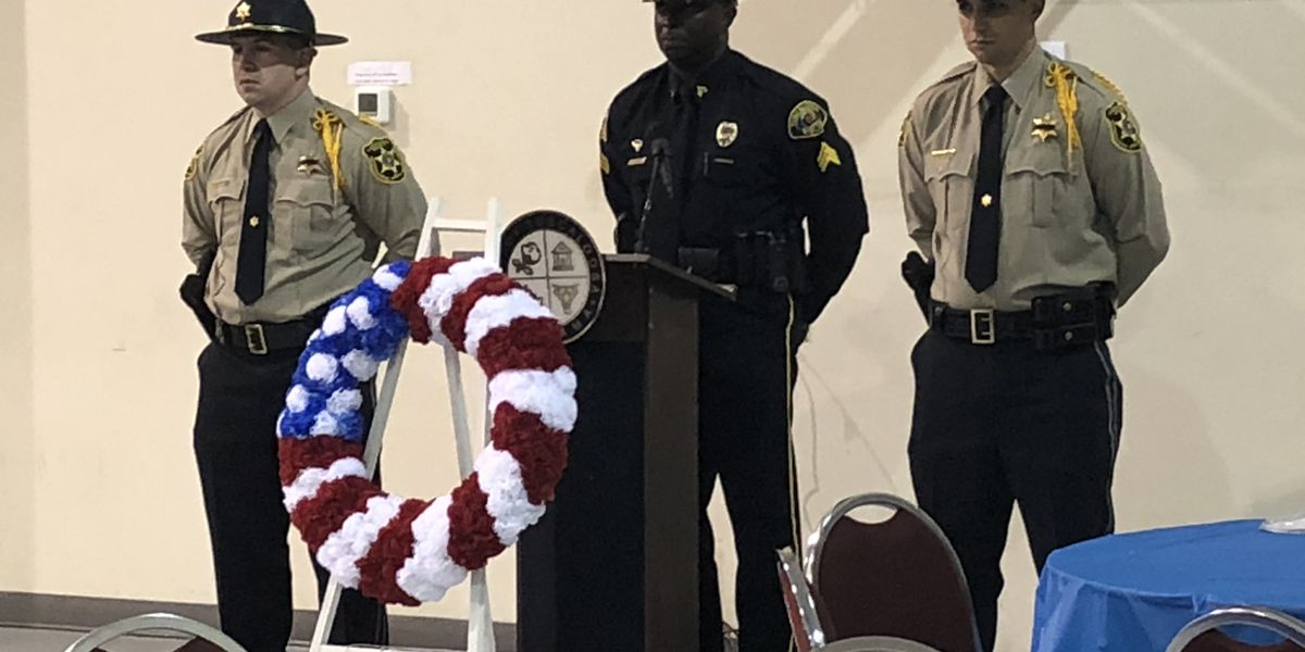 Ceremony honors officers killed in the line of duty