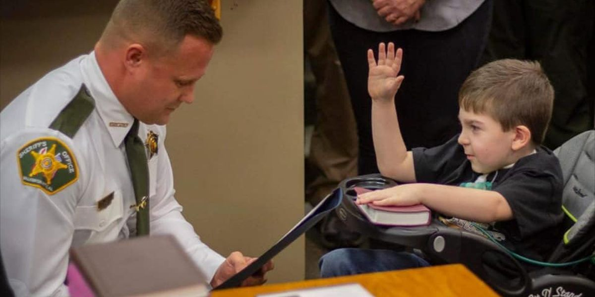 Walker Co. child made honorary sheriff's deputy