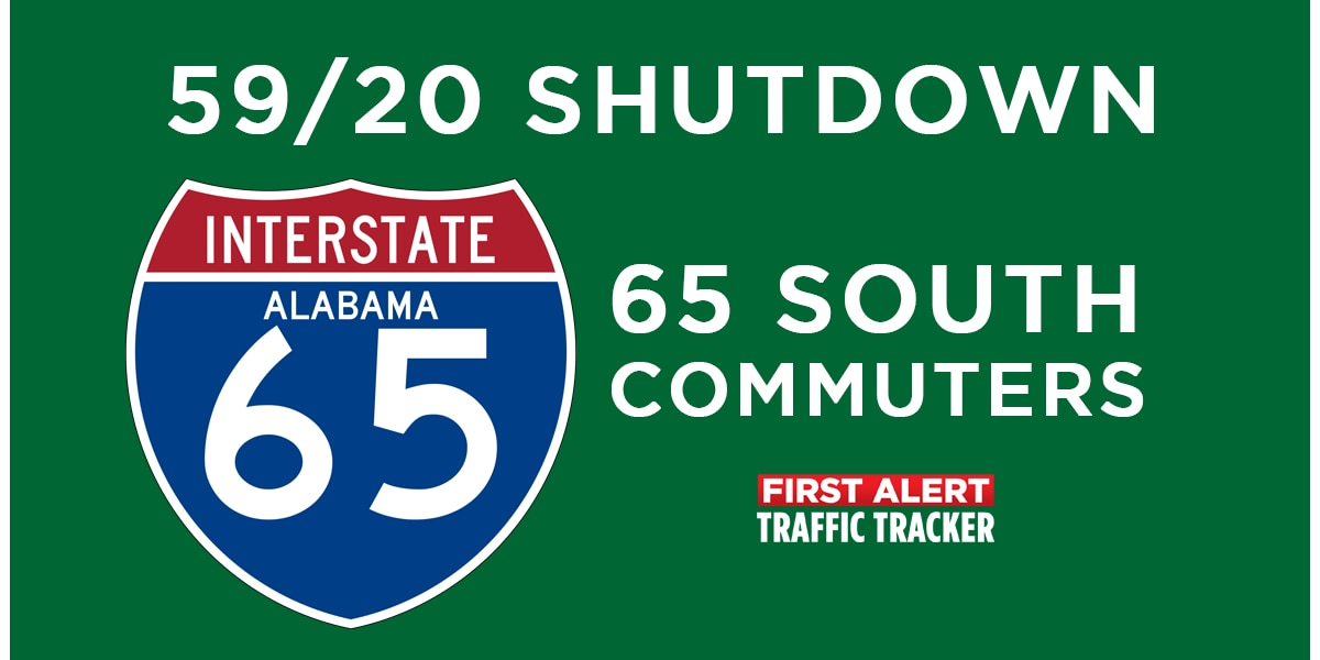 I-59/20 Shutdown: Best routes for 65 South Commuters