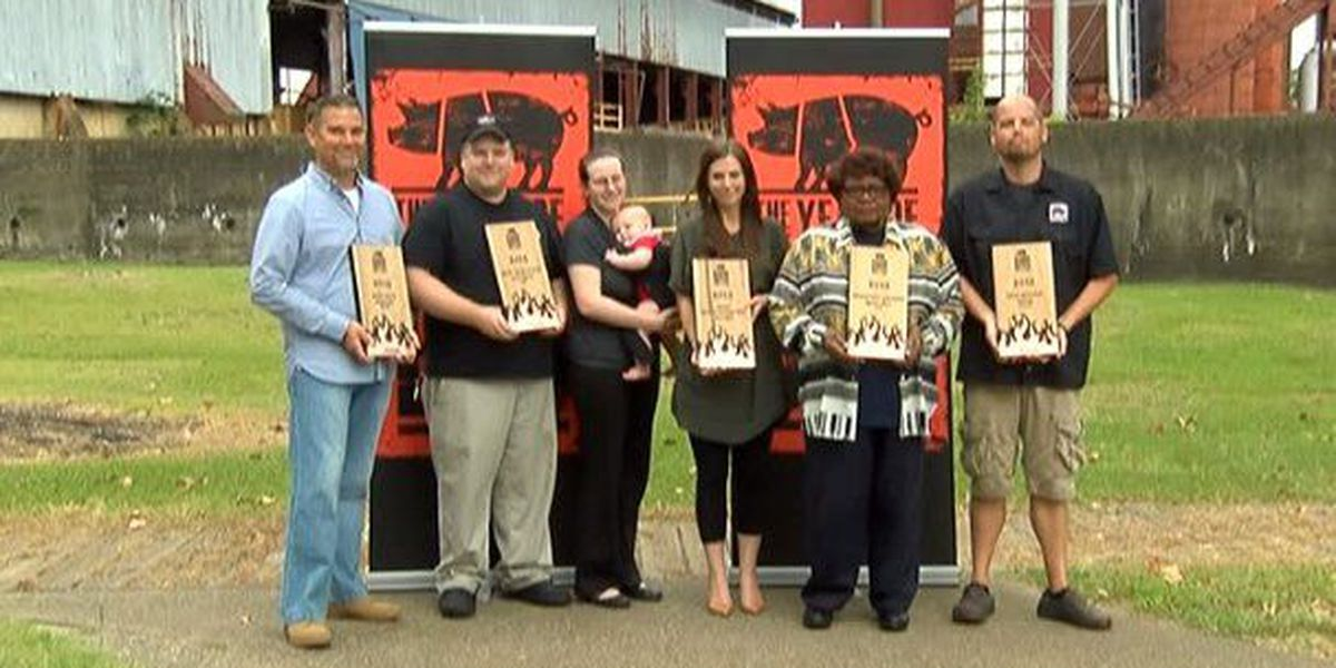 Alabama BBQ Battle winners honored in Birmingham