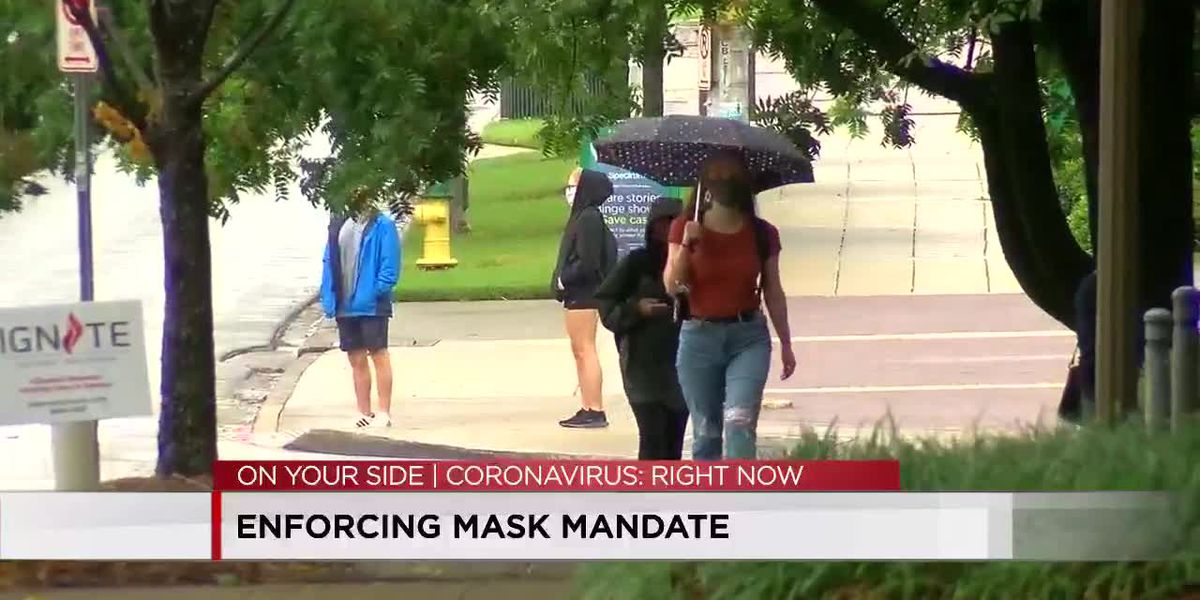 Enforcing mask mandate