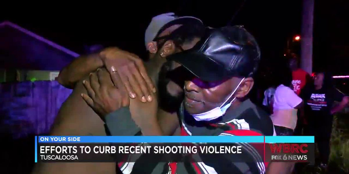 Efforts to curb recent shooting violence in Tuscaloosa