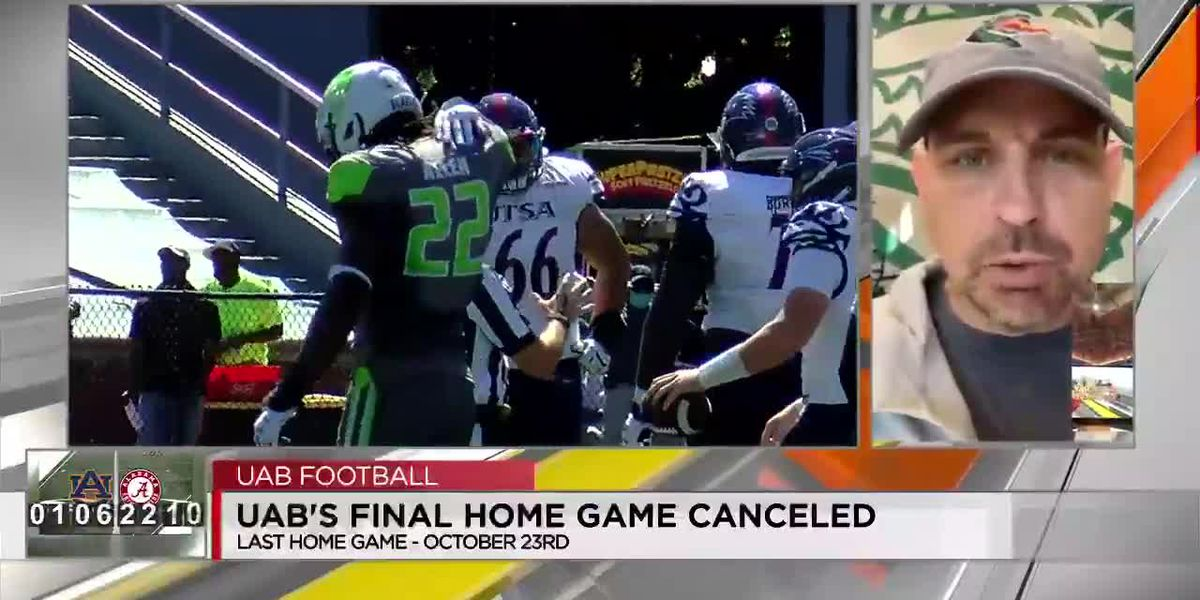 Bill Clark talks about UAB's final home game being canceled