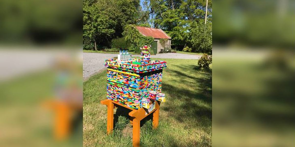 Lego beehive is all the buzz