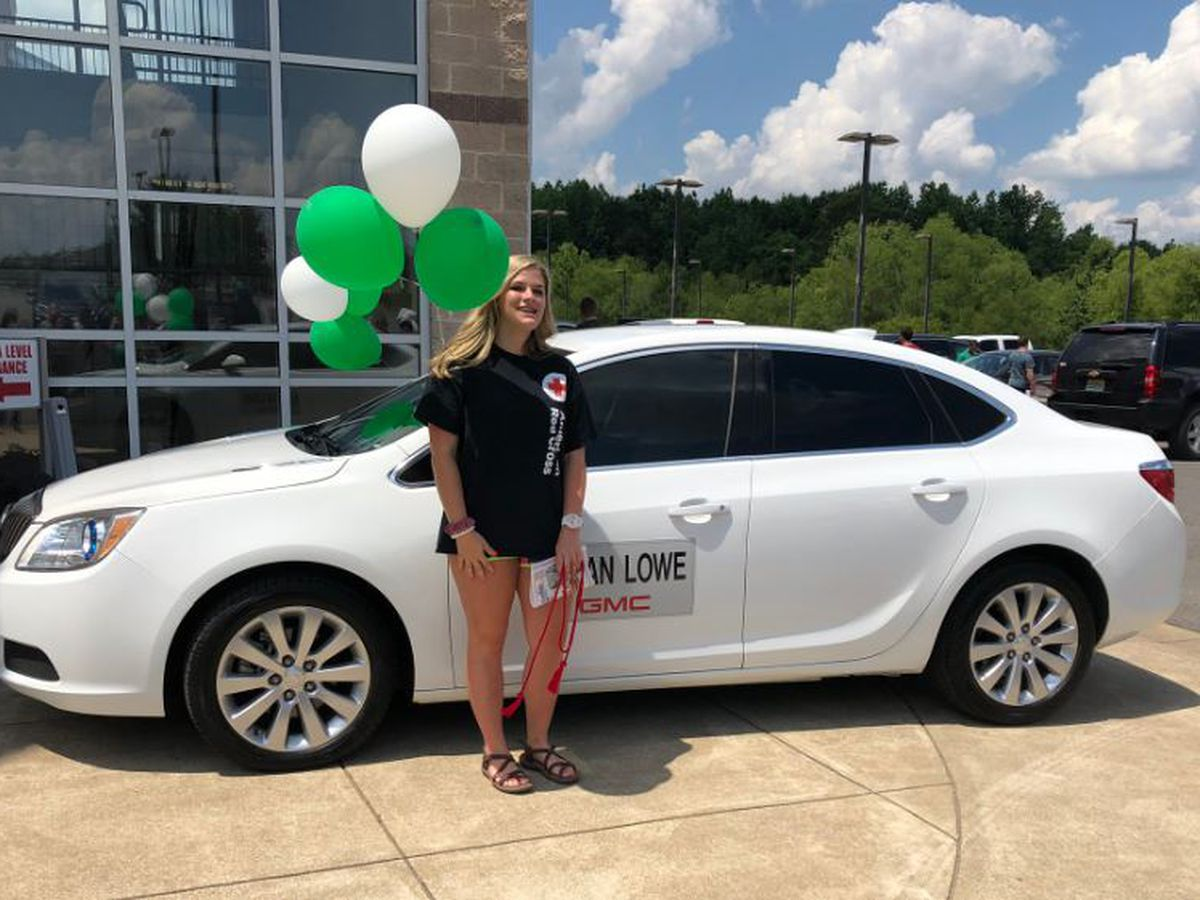 Hokes Bluff HS salutatorian wins car in annual Etowah Co. honor roll drawing