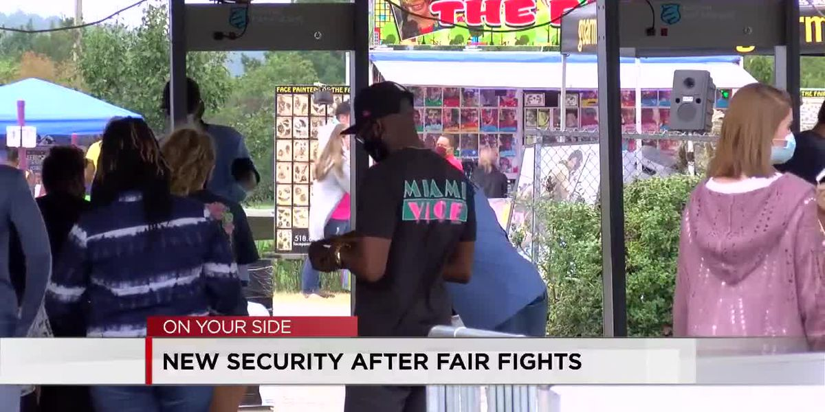 Alabama State Fair adds extra security measures after night of chaos
