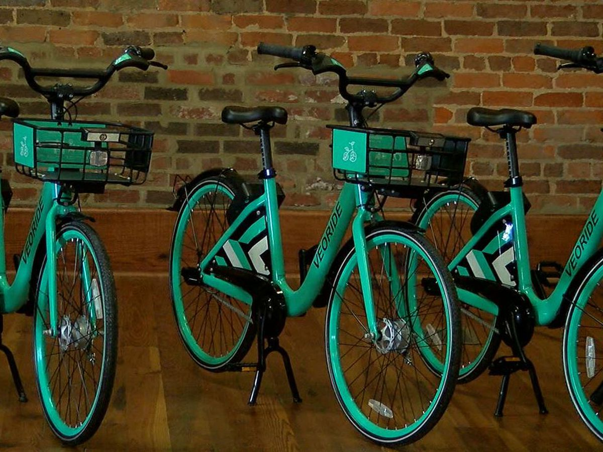 Veoride bikeshare program kicks off in Calhoun County