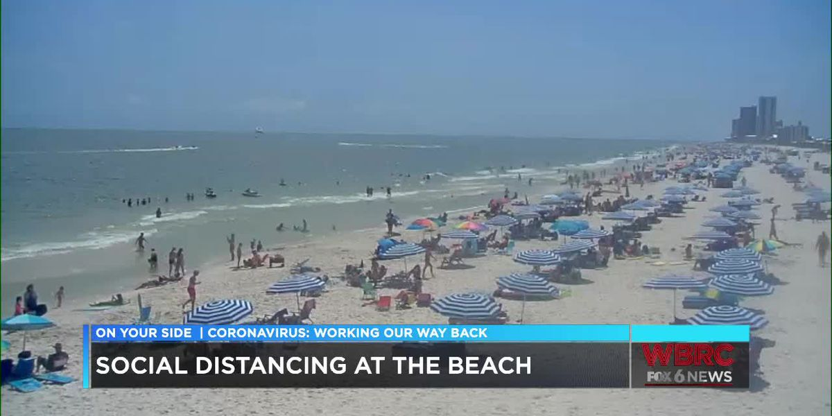 Folks are heading to the beach for Memorial Day weekend despite coronavirus