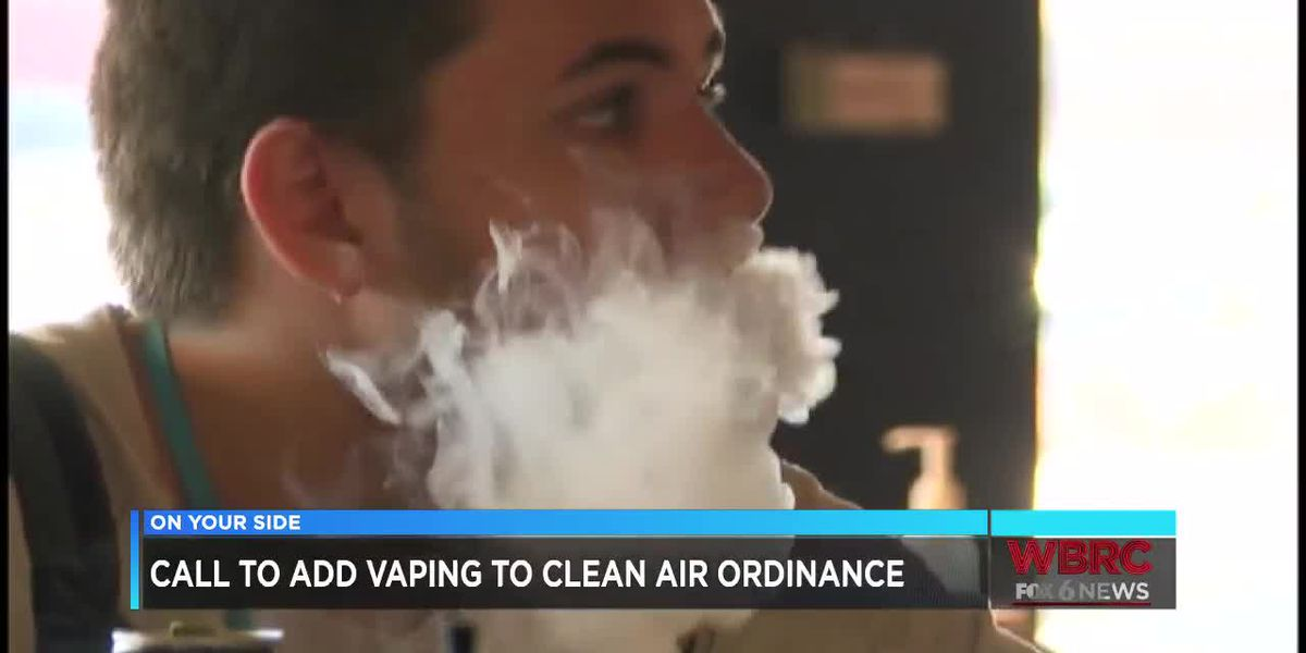 Call to add vaping to ordinance