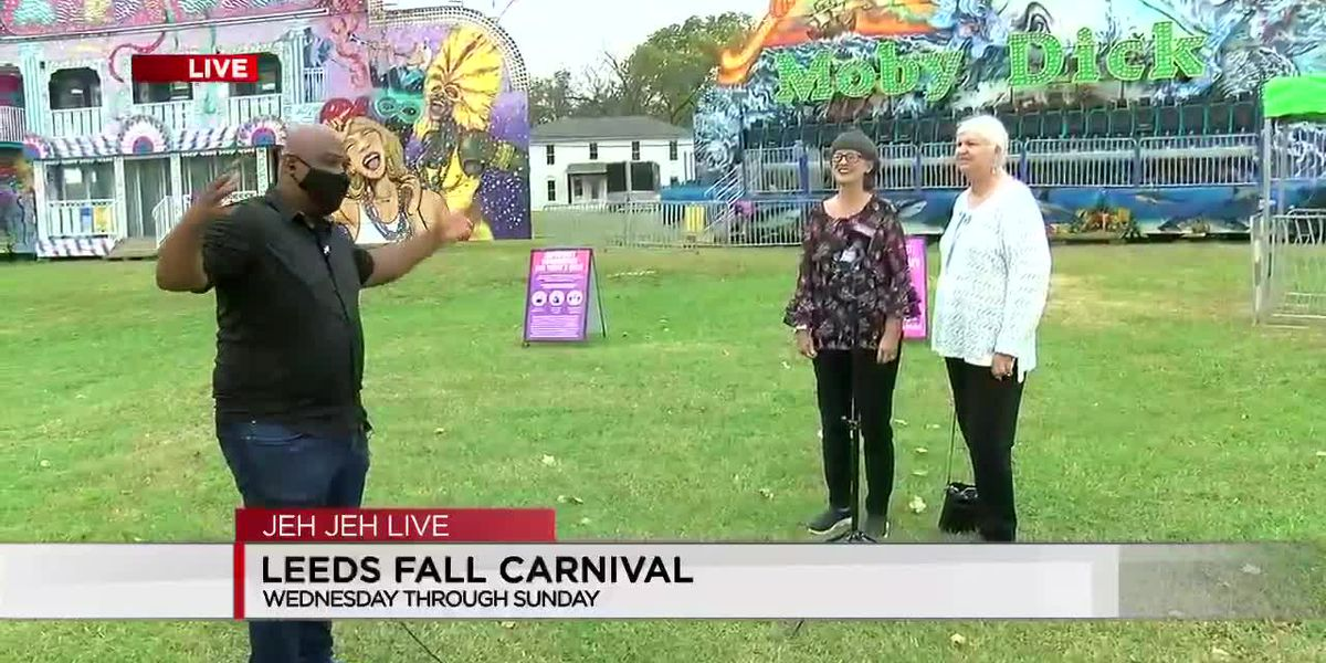 Leeds Fall Carnival begins Wednesday