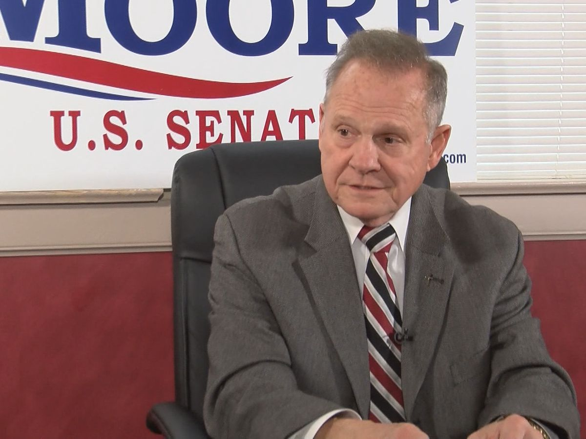 Roy Moore suing Gov. Ivey, state health officer over COVID-19 restrictions