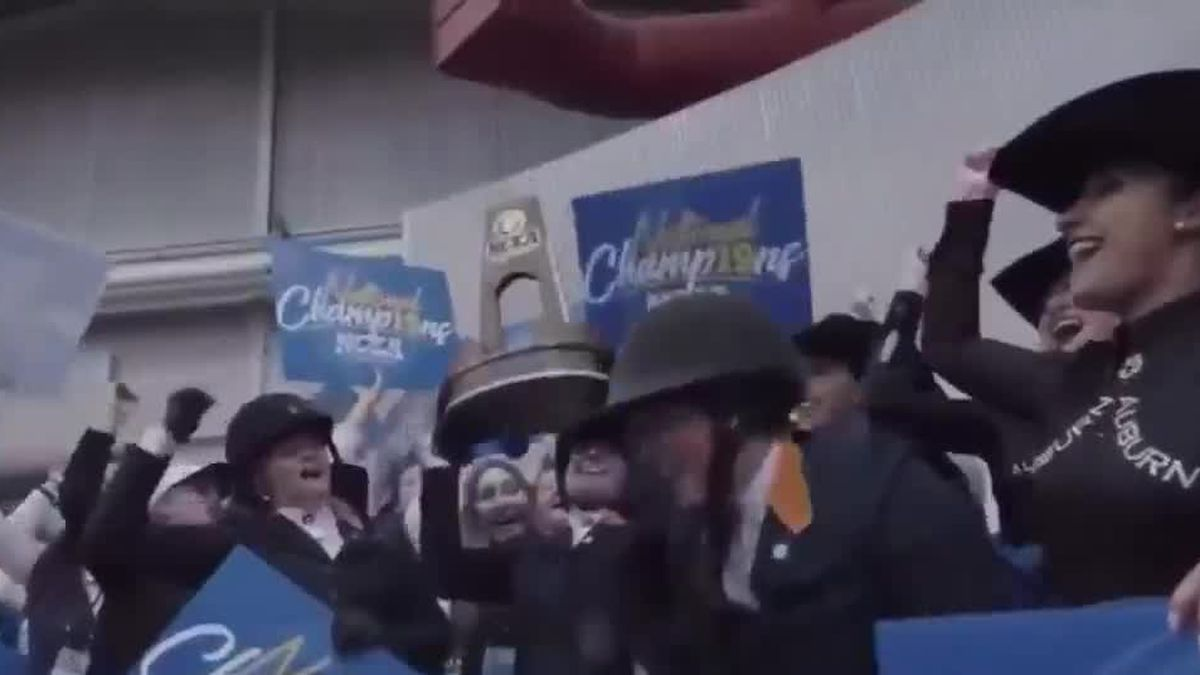 Auburn equestrian program wins 6th national championship