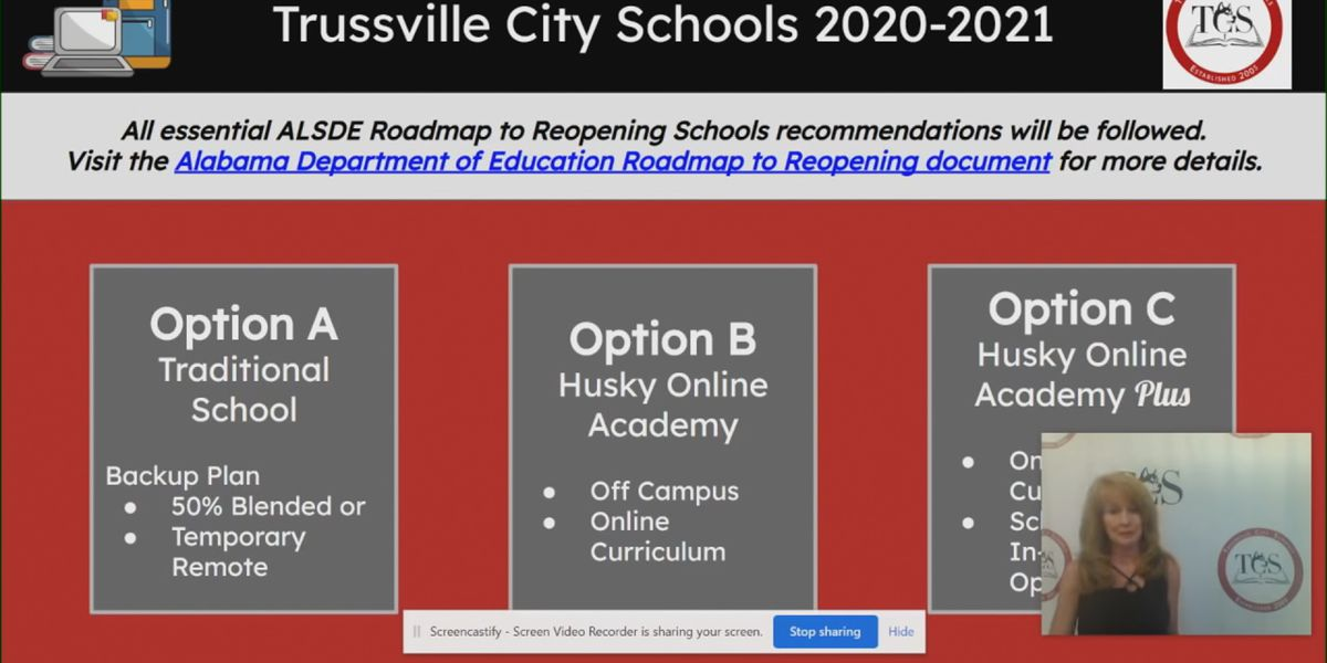 Trussville makes changes to school reopening plan