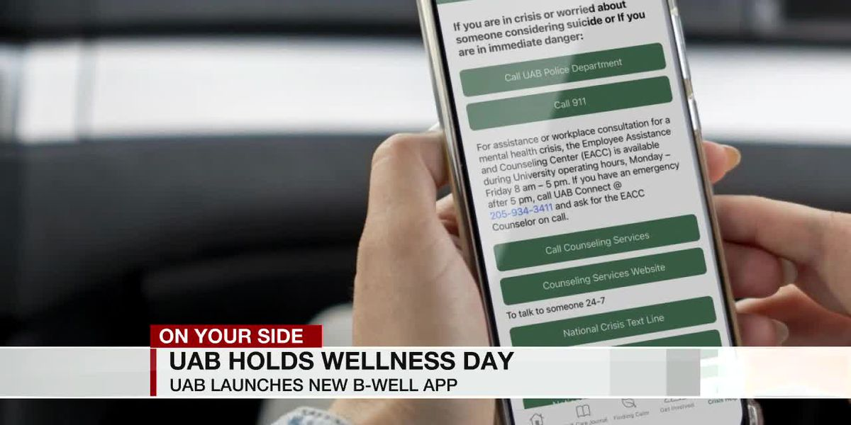 UAB encouraging Mental Health Wellness with mindfulness and new app