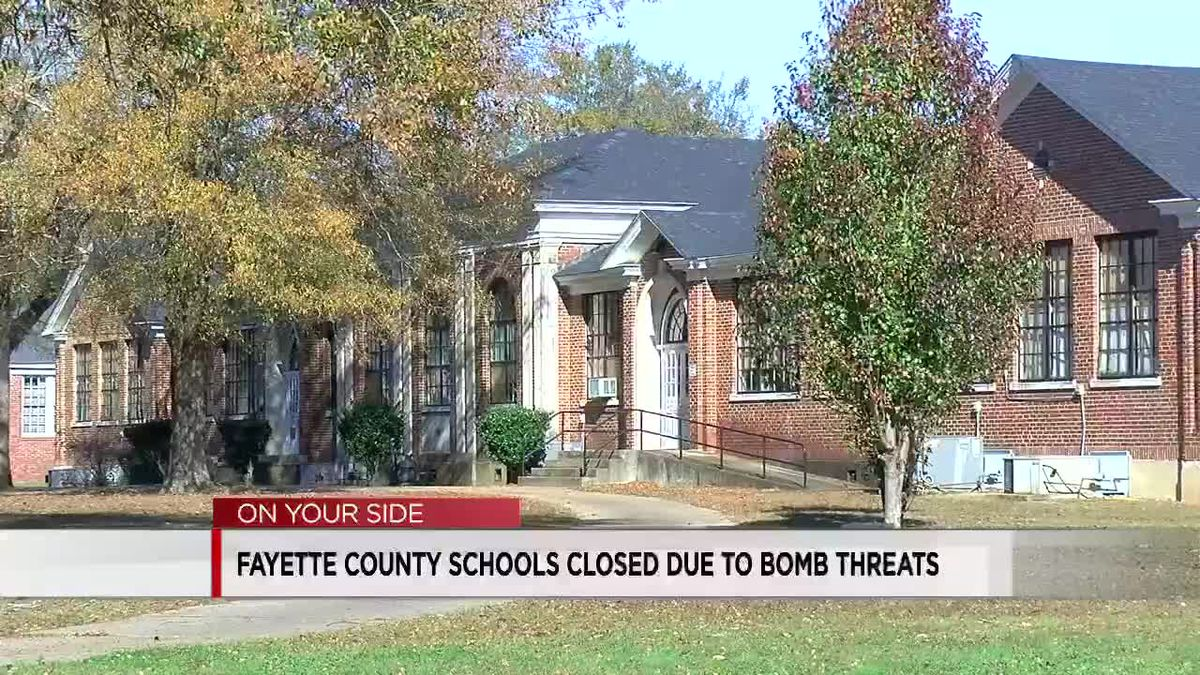 Fayette County schools closed due to bomb threats