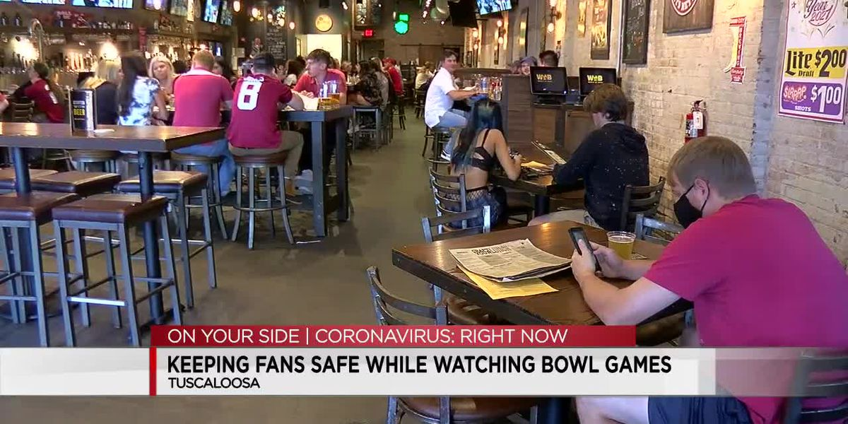 Bar owner wants customers to feel safe from COVID-19 while watching Alabama games