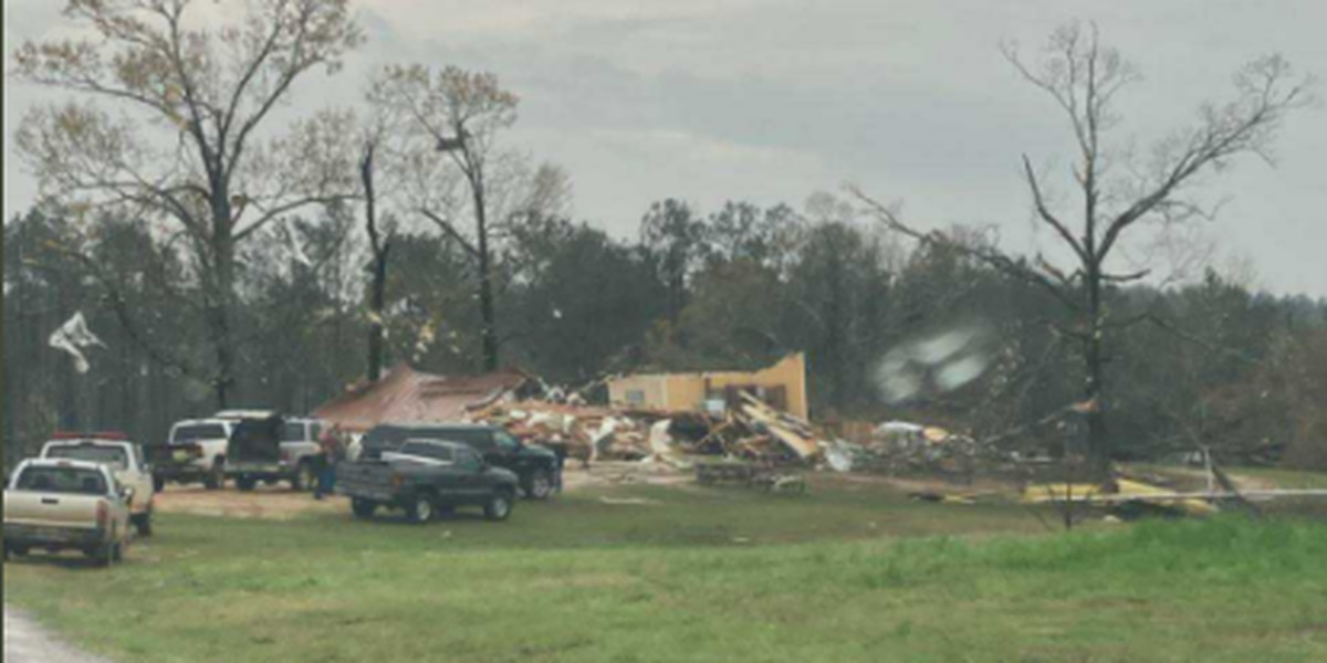 Storm damage reported in several central Alabama counties